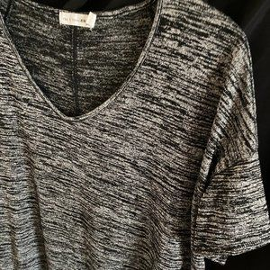 rag & bone/JEAN Marled Short-Sleeve Top